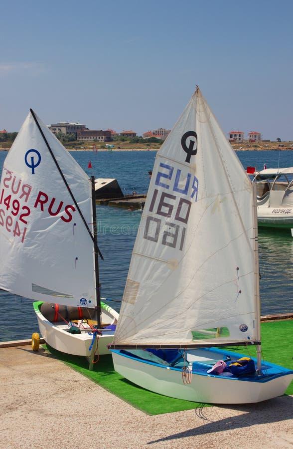 Sportläger och södra yachtklubba fotografering för bildbyråer