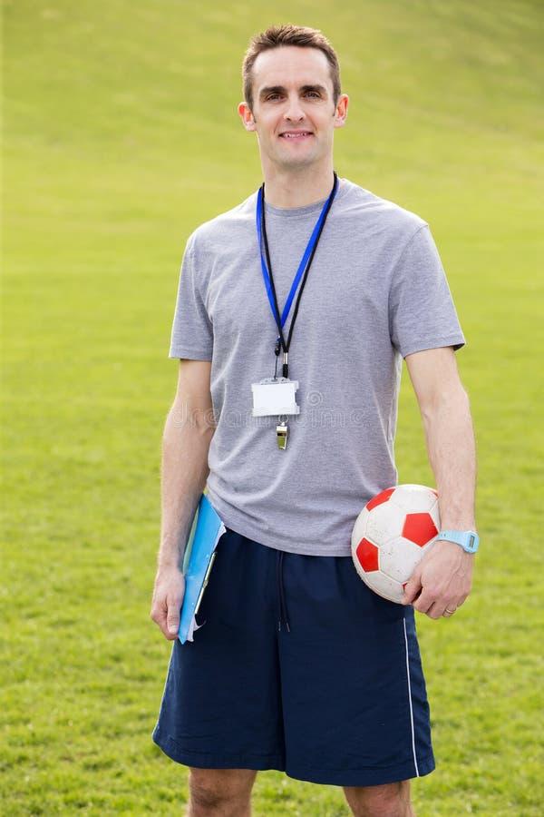 Sportlärare royaltyfri foto