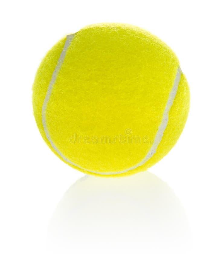 Sportliche Ausrüstung: Tenniskugel lizenzfreie stockbilder