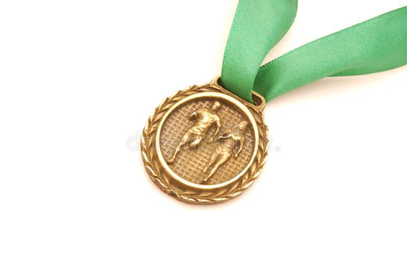 Sportliche Medaille lizenzfreies stockfoto