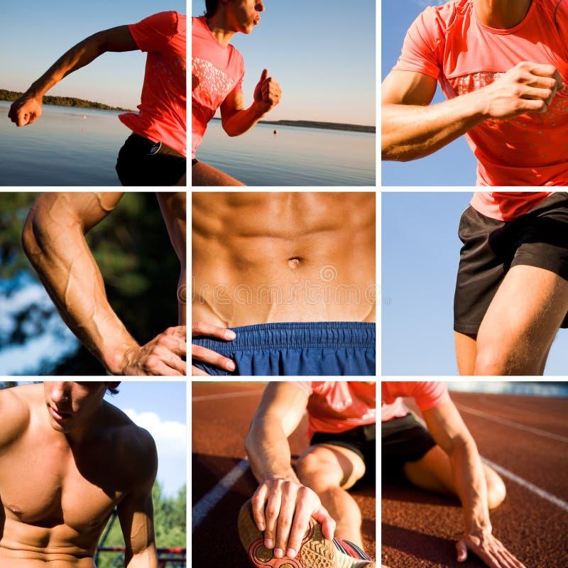 Sportman royalty-vrije stock foto's