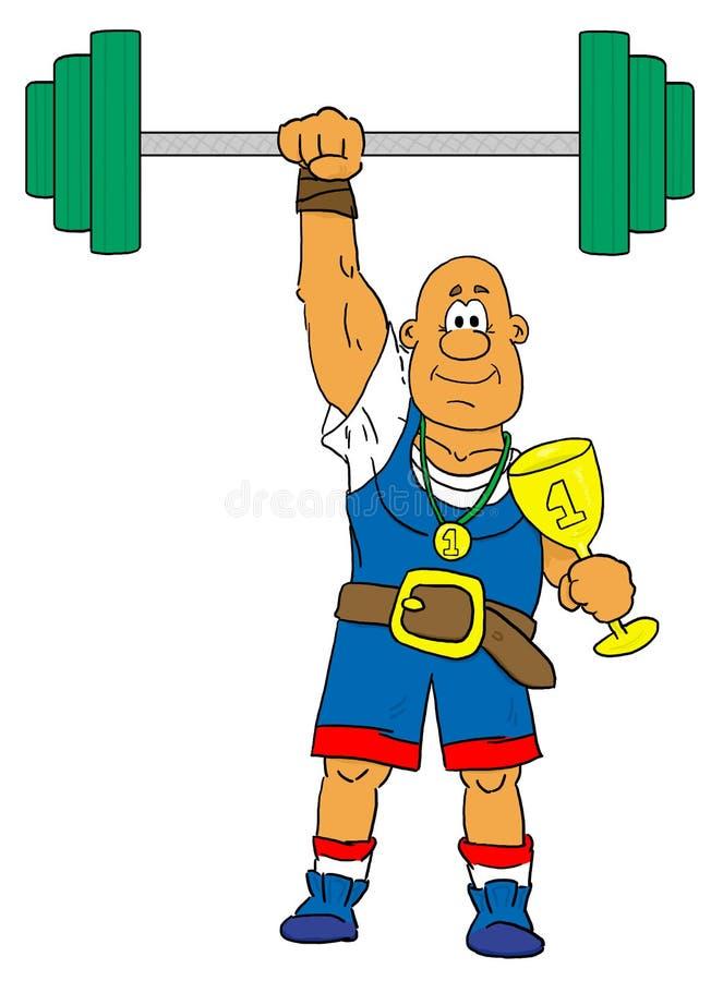 Sportman vector illustratie