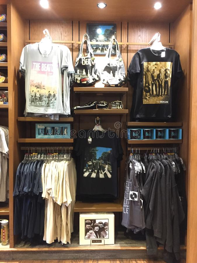 Sportman ` s Shoppe, Disney Epcot, het UK royalty-vrije stock fotografie