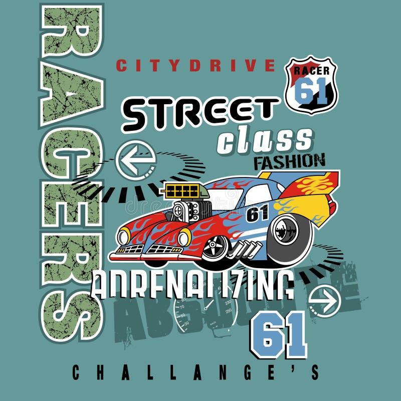 Sportowego samochodu wektor ilustracji
