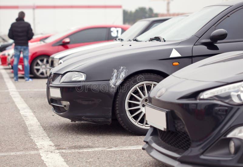 Sportowi samochody zdjęcia royalty free