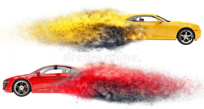 Sportowi Samochody FX royalty ilustracja