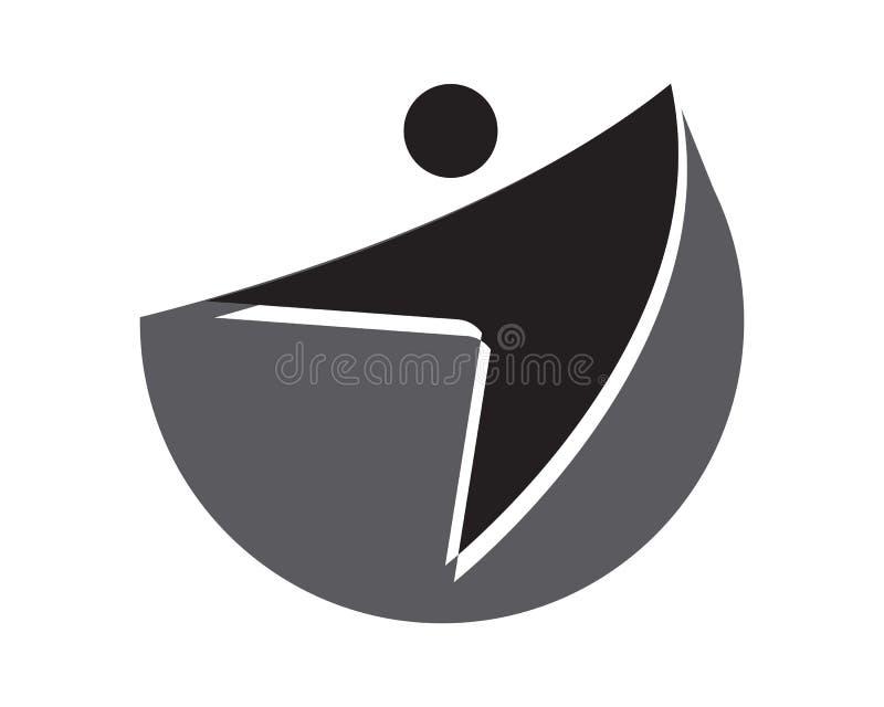 sportowy, balansowy, ciało, gatunek, opieka, klub, kreatywnie, dieta, dyna ilustracja wektor