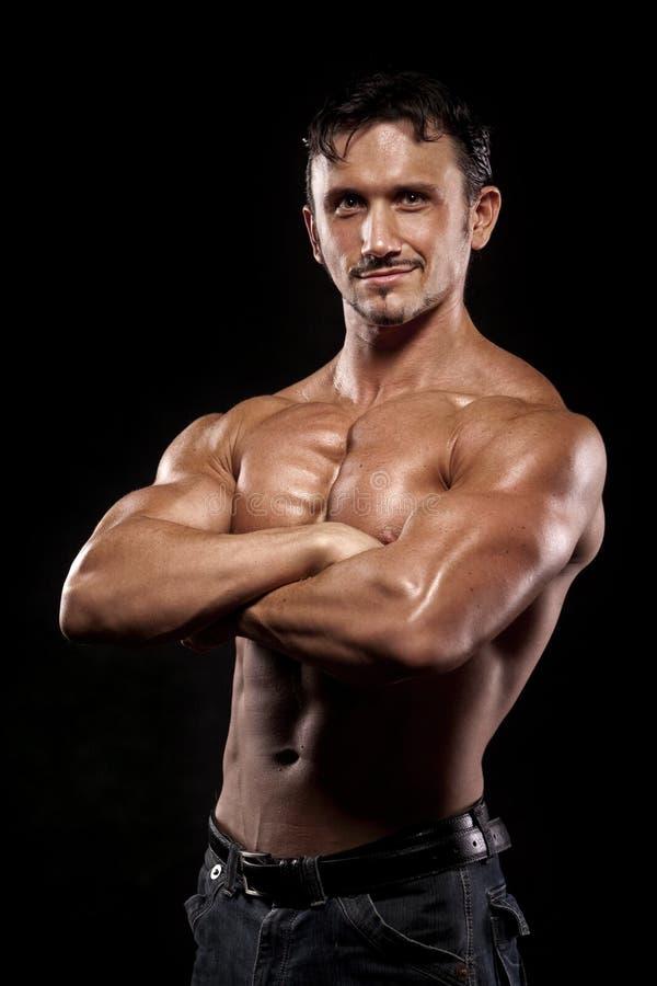 sportowy mężczyzna zdjęcie royalty free