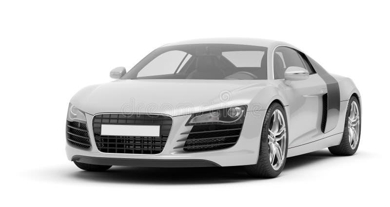 Sportowy samochód royalty ilustracja