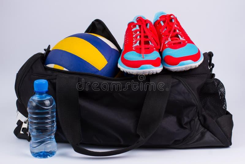 Sportpåse fotografering för bildbyråer