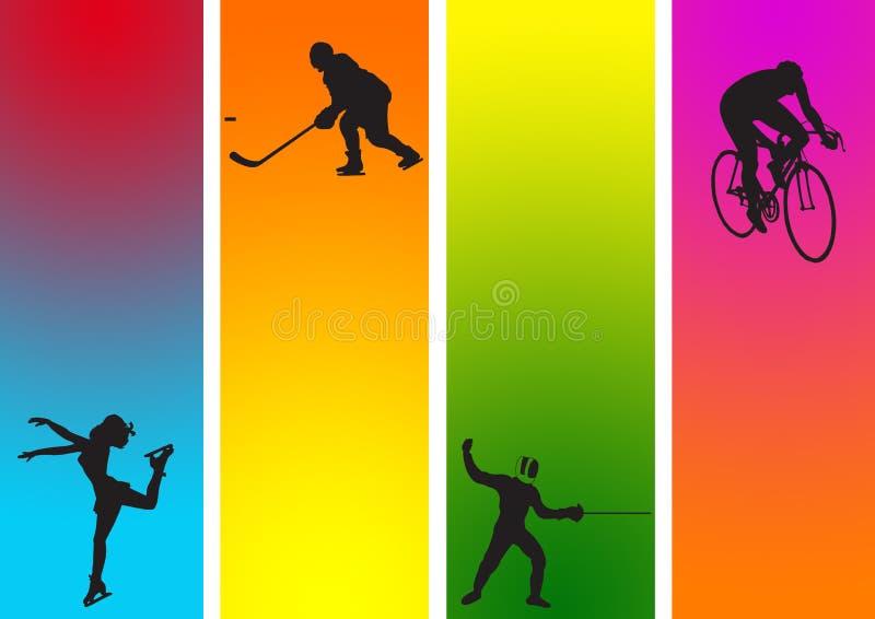 Sports 13 illustration stock