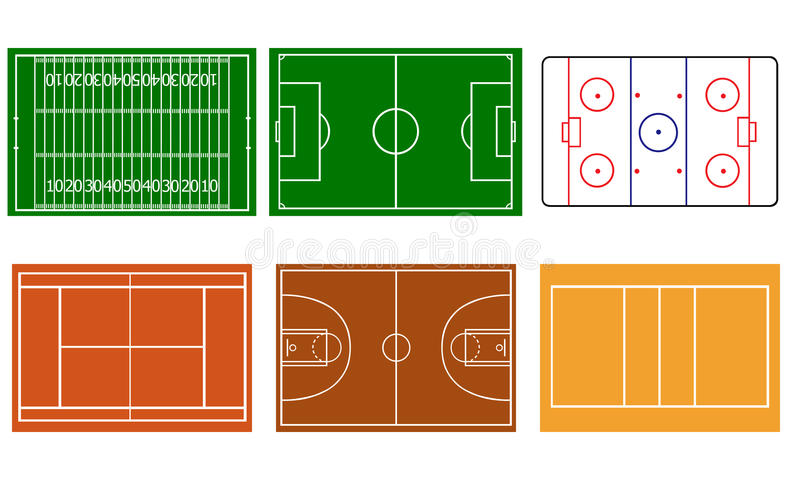 Sports illustration de vecteur