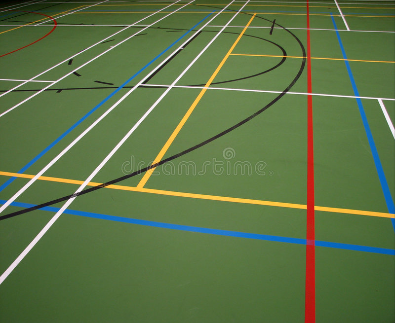 Abstract Sports Background Royalty Free Stock Image