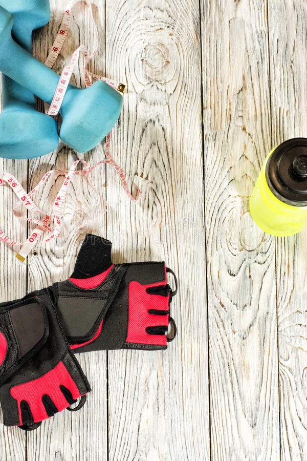 Sports accessories. stock photography