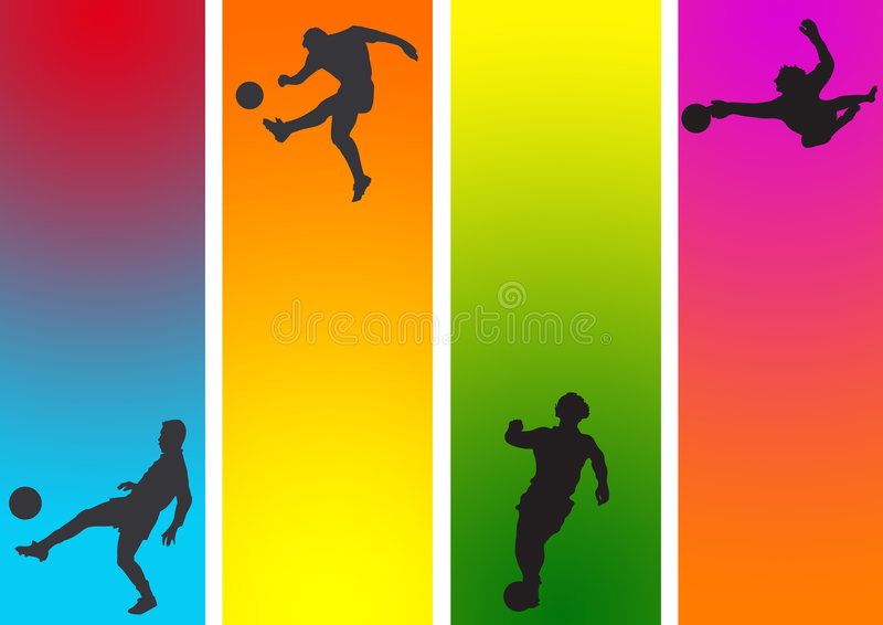 Sports action royalty free illustration