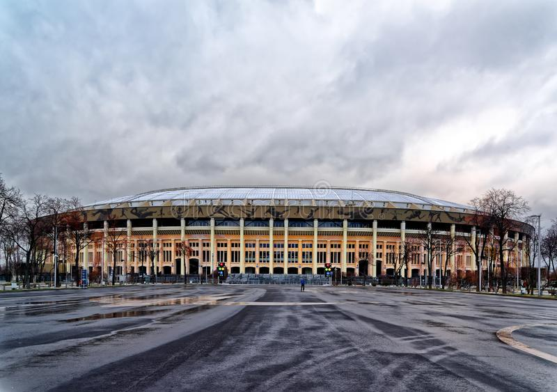 Sports arena of the Olympic complex Luzhniki royalty free stock images
