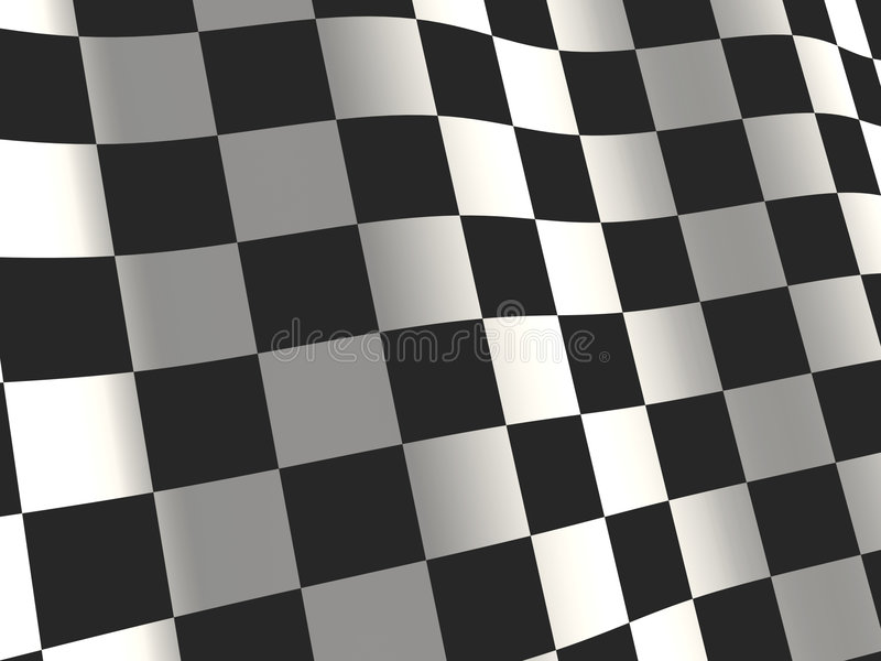 Download Sports Background - An Abstract Checkered Flag Stock Illustration - Illustration: 6113648