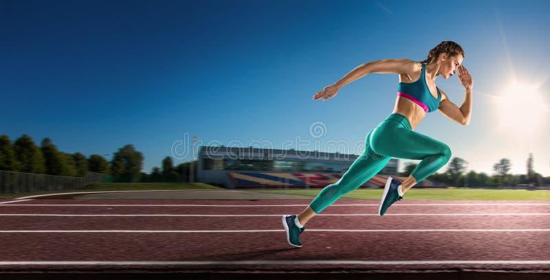 Sport. Starting Athlete runner. stock photos
