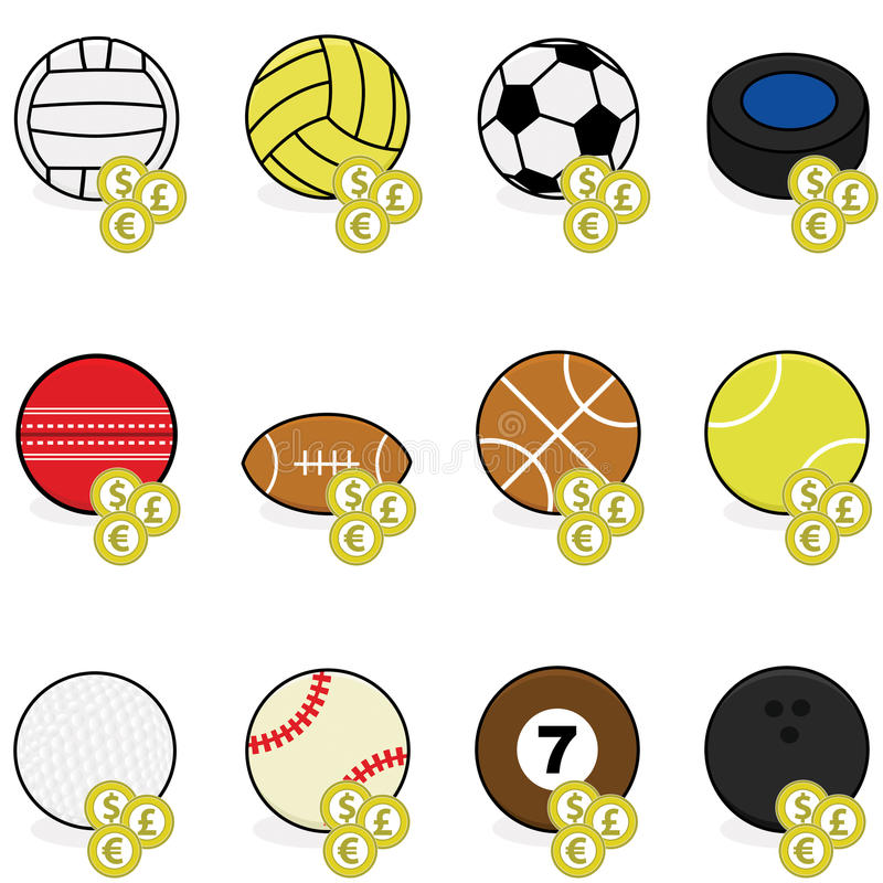 Download Sports betting icons stock vector. Illustration of graphic - 27519342