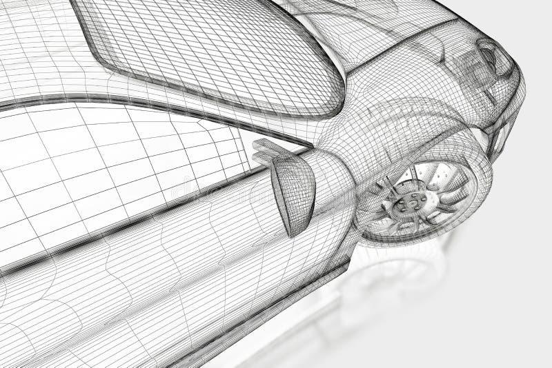 Sports car stock illustration. Illustration of computer - 22302920 - 웹