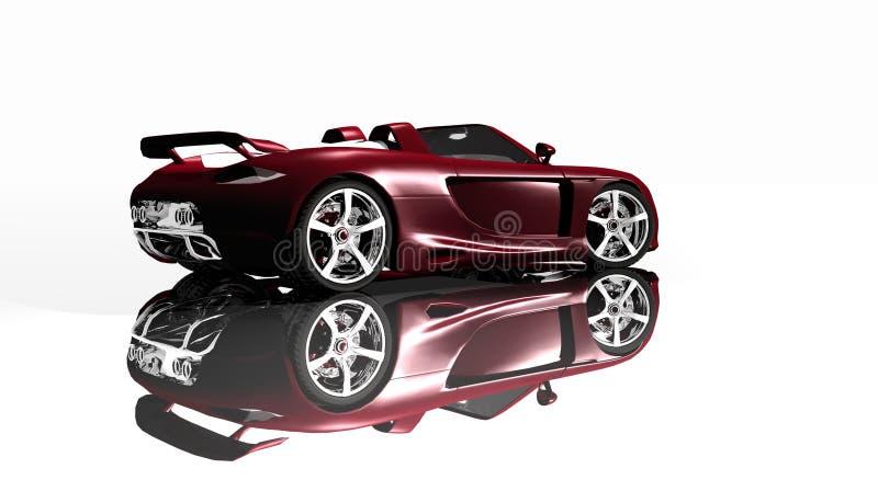Download Sports car stock illustration. Image of vehicle, wallpaper - 4515153