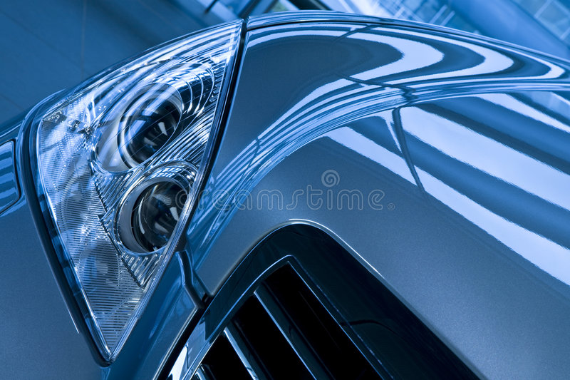 Download Sports car stock photo. Image of blue, motoring, metal - 7364270