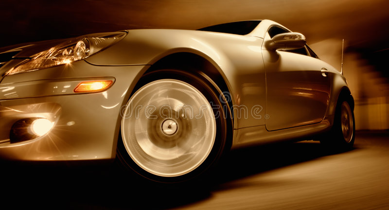 Sports Car Stock Image