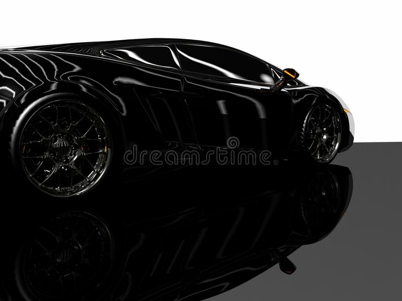Download Sports car stock illustration. Image of auto, shiny, design - 9223157