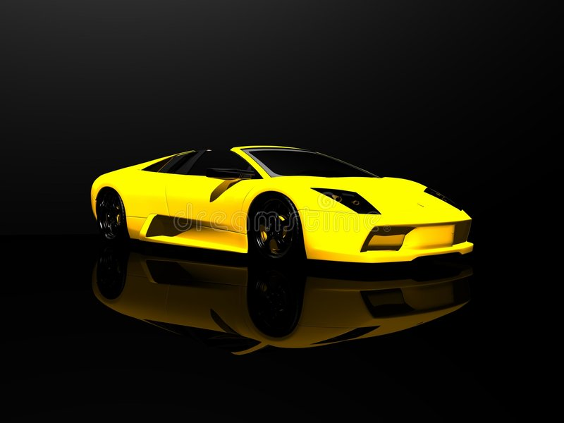 Sports car vector illustration
