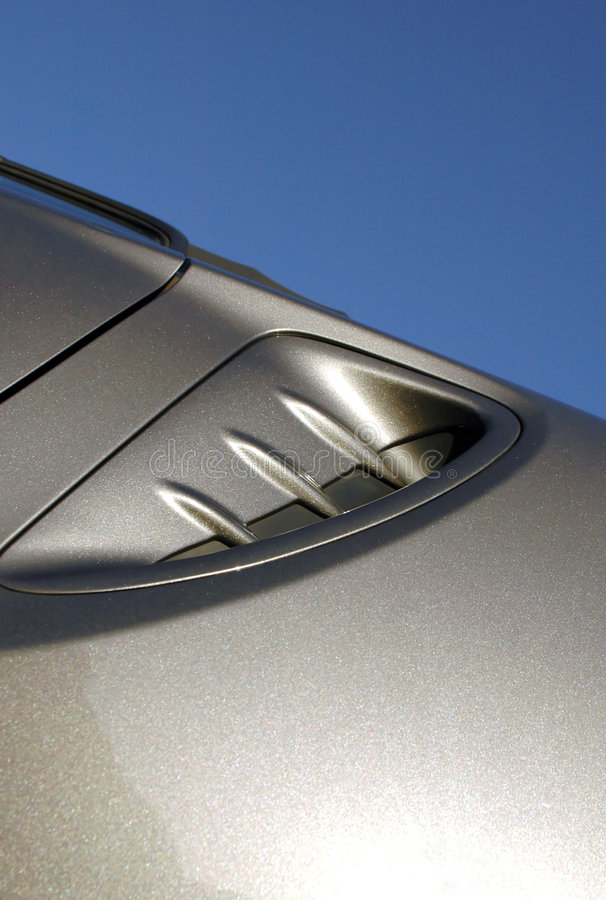 Sports car abstract stock photography