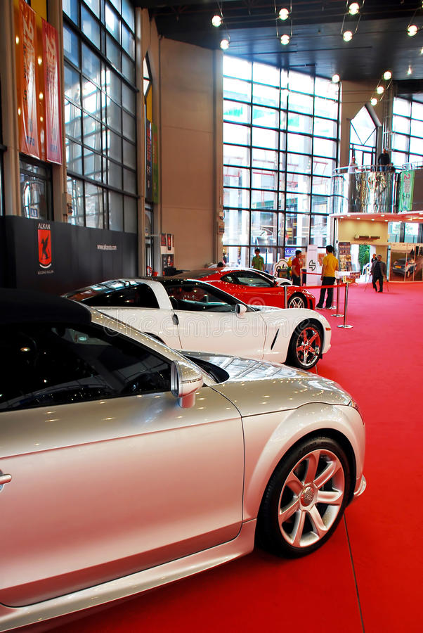 Download Sports Car At The Auto Show Editorial Photography - Image: 14856207