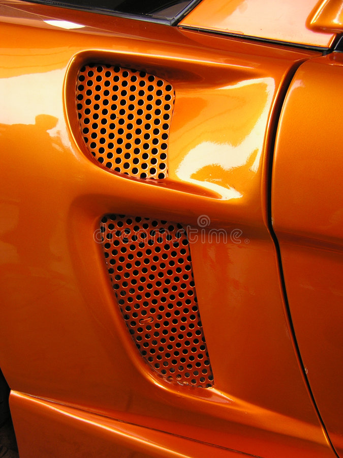 Download Sports car closeup #2 stock photo. Image of acceleration - 8060