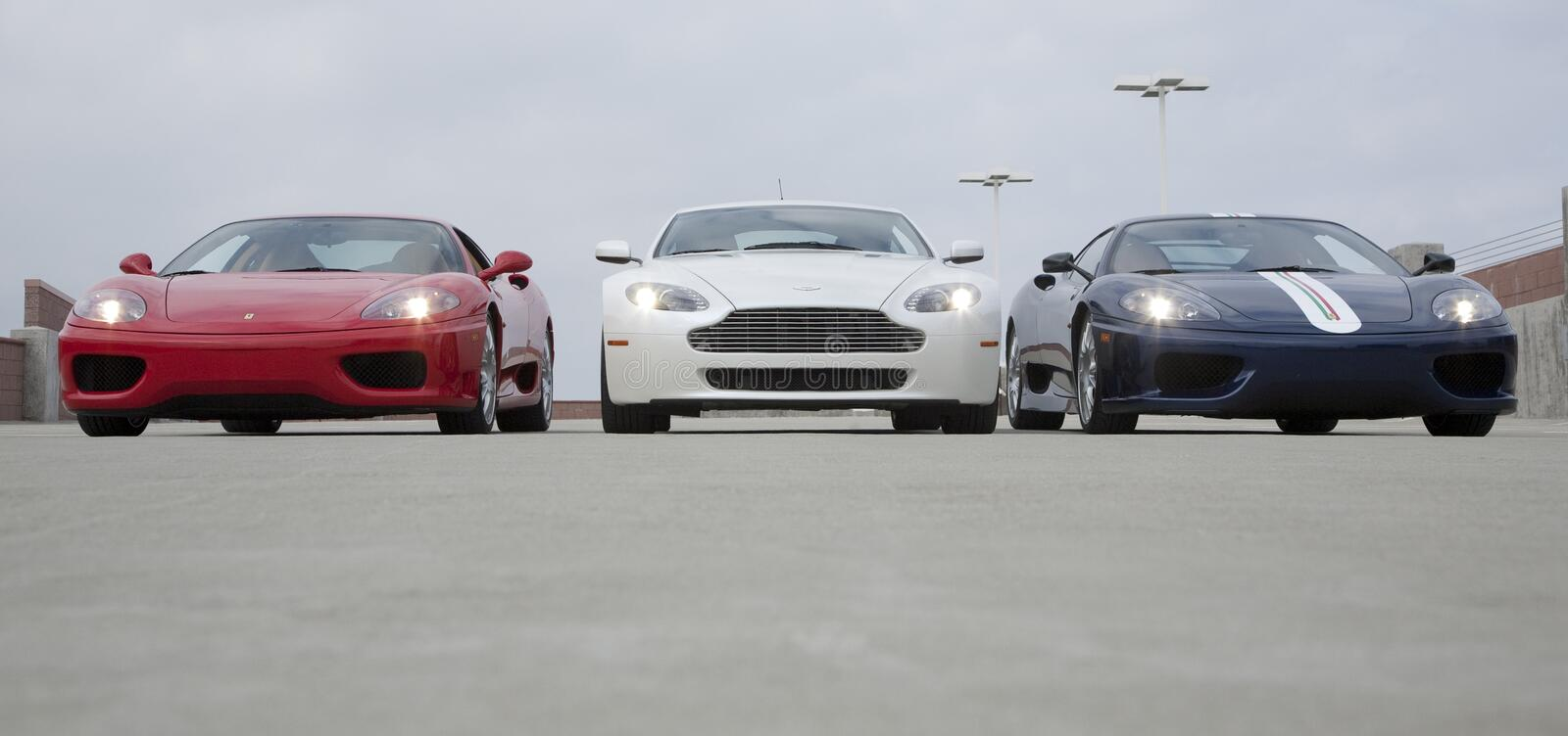 Sports Car Collection Editorial Image