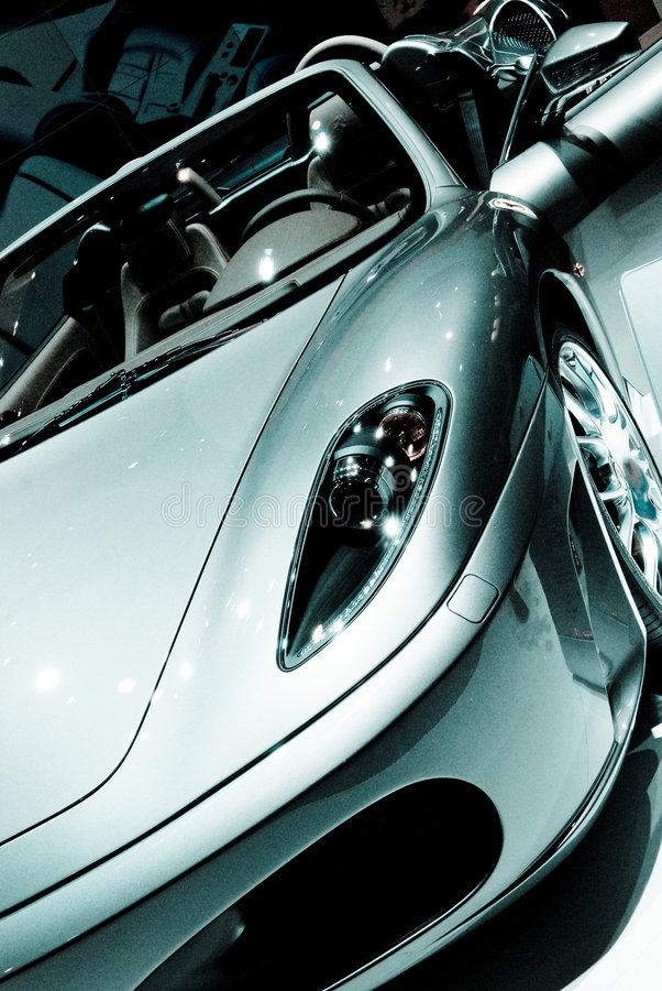 Sports Car Detail Royalty Free Stock Photography