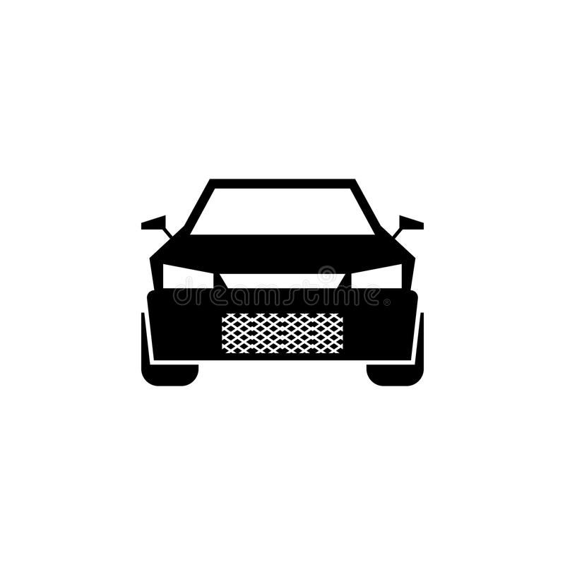 Sports Car Front View Icon Elements Of Transport Icon Premium