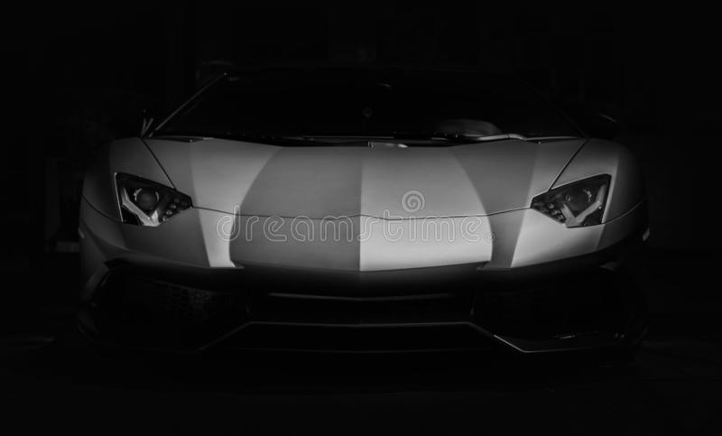 Sports Car Frontal royalty free stock photography