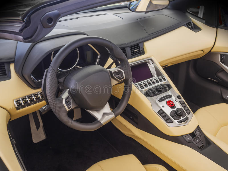 sports car interior stock photo image of control modern 32835810. Black Bedroom Furniture Sets. Home Design Ideas