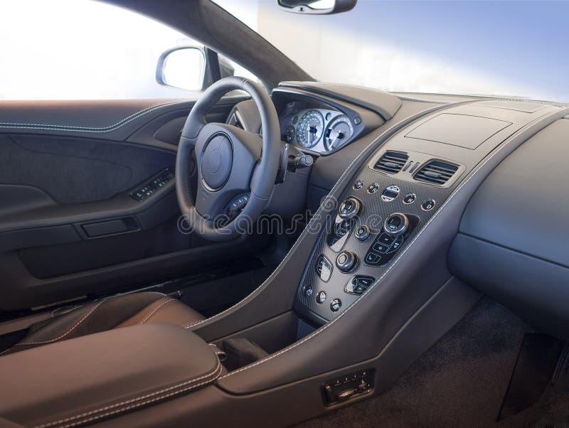 Sports car interior