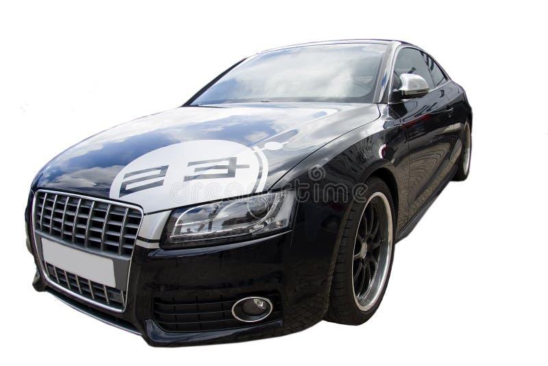 Sports car isolated. On white background royalty free illustration