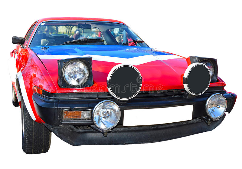 Sports Car Isolated With PNG File included stock image
