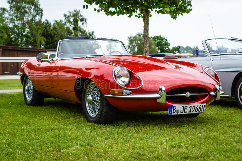 Download Sports Car Jaguar E Type Mk1. Editorial Stock Image   Image Of  Transportation