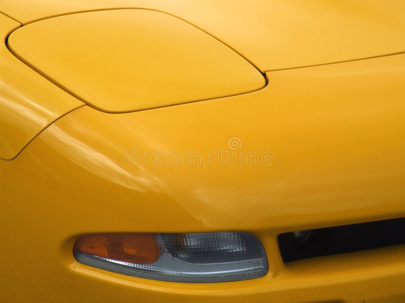 Sports car lamp and indicator royalty free stock photos