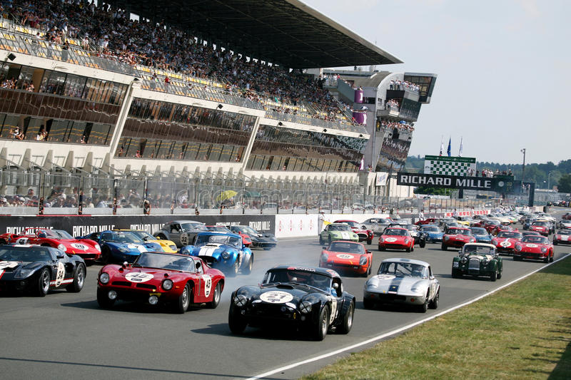 Sports Car,Le Mans Classic 24h Race stock images