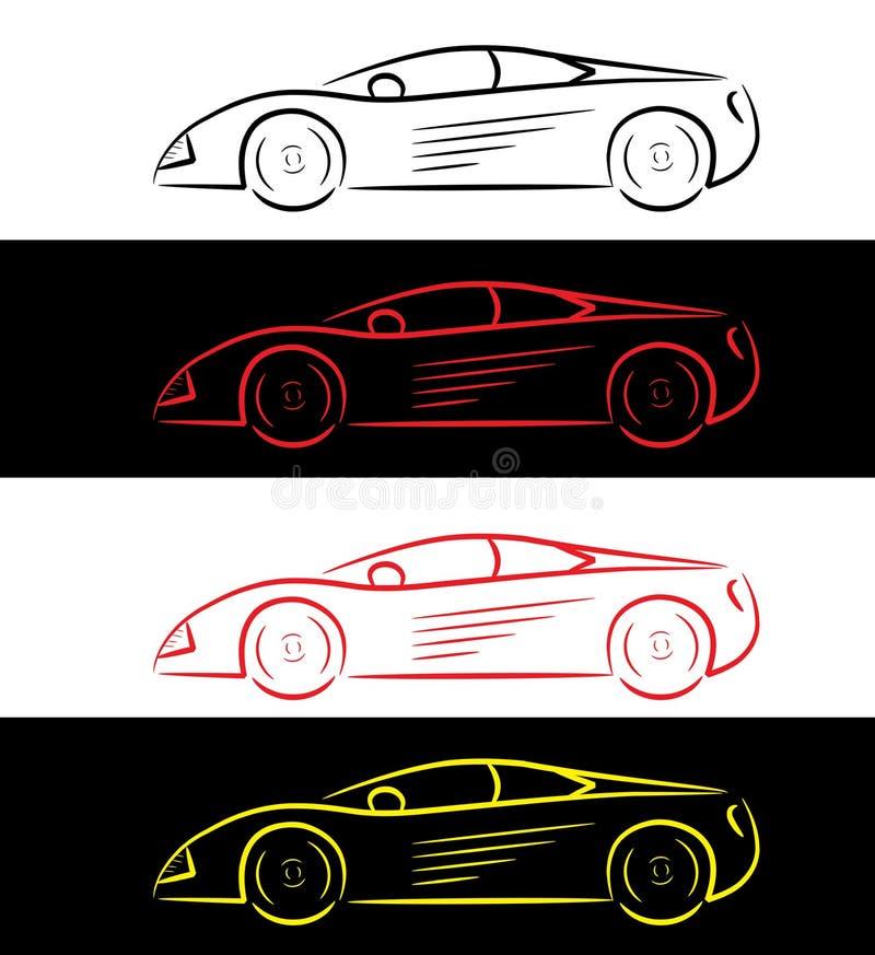 Free Sports Car - Logo Stock Image - 24320451