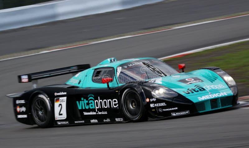 Sports Car,Maserati MC12(FIA GT) royalty free stock images
