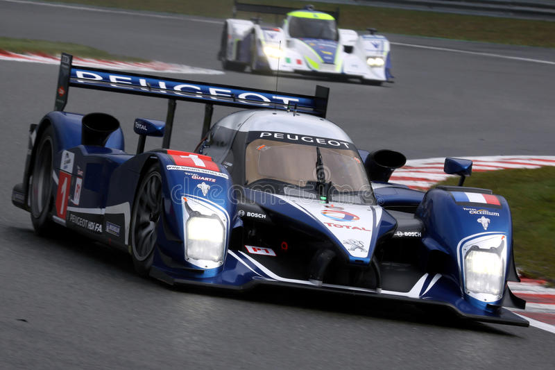 Download Sports Car,Peugeot 908 HDi-FAP(LMS) Editorial Stock Photo - Image of race, mans: 16364513