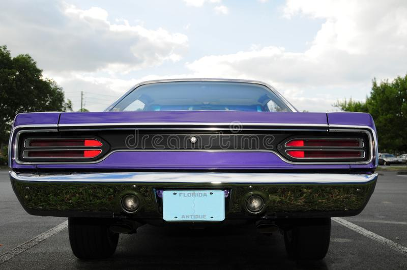 Sports Car Rear Royalty Free Stock Images