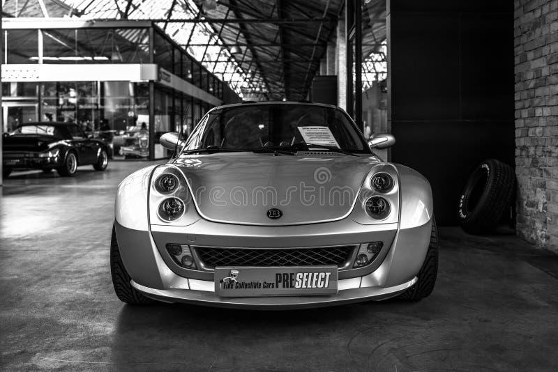 Sports car Smart Roadster Brabus, 2004. stock photography