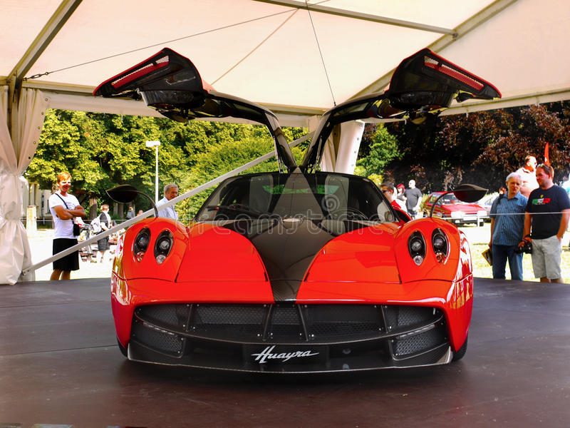 Sports Cars, Pagani Hyuara editorial image. Image of sports - 95237270
