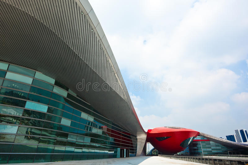Download Sports Centre stock image. Image of white, clouds, asia - 17183515